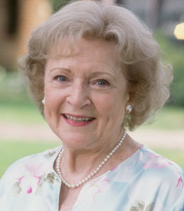 "It's been said that, ""Betty white is so old if you google her, you'll find her both Craig's and Schindler's list."""