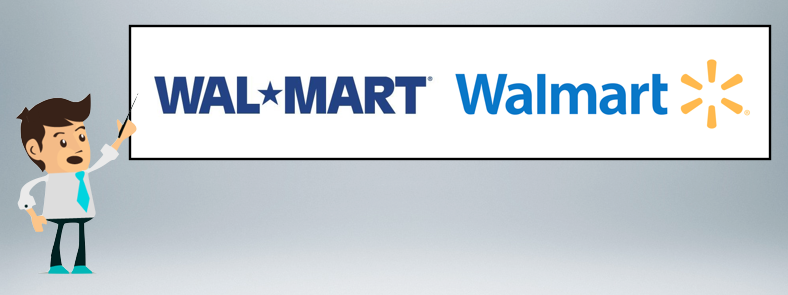 The Changes In Walmarts Logo From